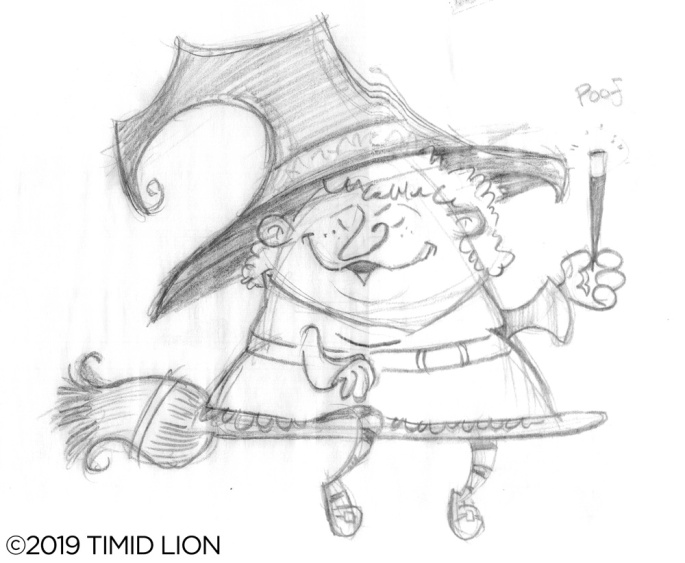 Witch-Pencil